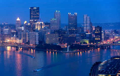 Image: Pittsburgh skyline