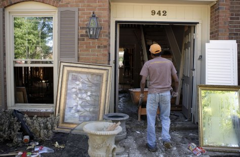 Image: Flood-hit home