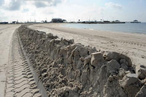 Image: sand berm