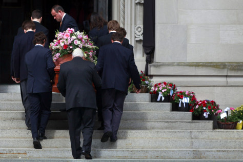 Image: Funeral for Yeardley Love