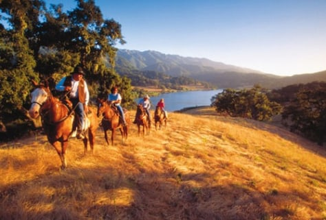 Image: Calif. trail ride