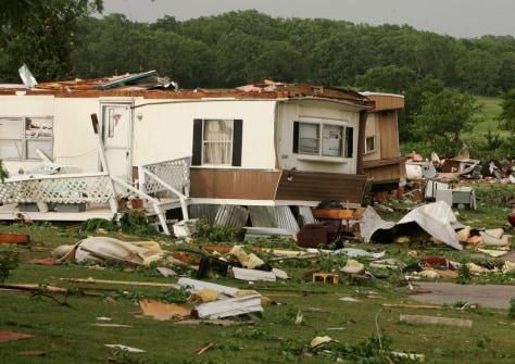 Image: Okla. tornado damage