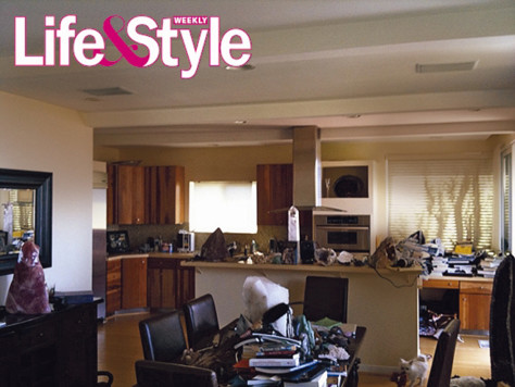 Image: Spencer Pratt's messy house