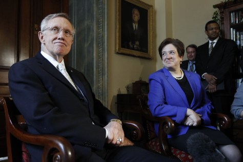 Image: Elena Kagan, Harry Reid