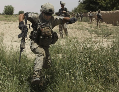 Image: Afghanistan's tough terrain
