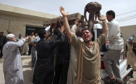 Image: Funeral in Baghdad