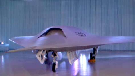 Image: Phantom Ray fighter jet