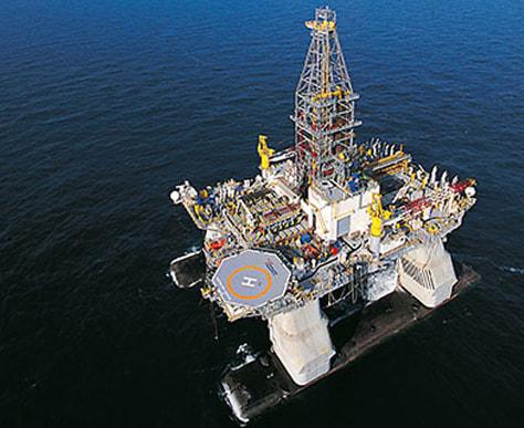 Image: Deepwater Horizon rig