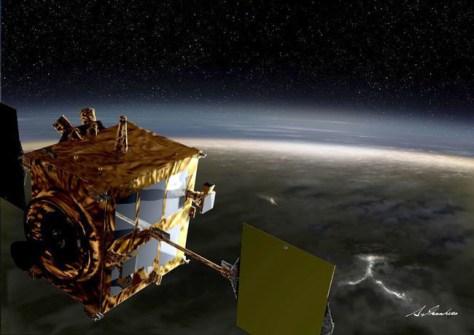 Image: Japan's Venus probe