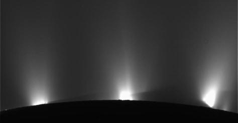 Image: Geysers of Enceladus