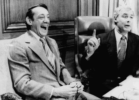 Image: Harvey Milk and George Moscone