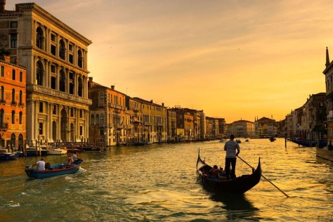Image: Sunset in Venice