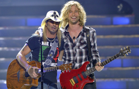 Image: Brett Michaels, Casey James