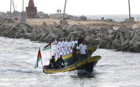 Image: Hamas naval police