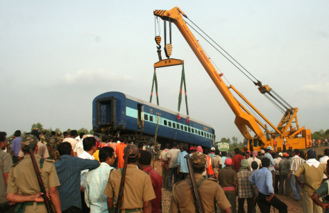 Image: Indian train accident