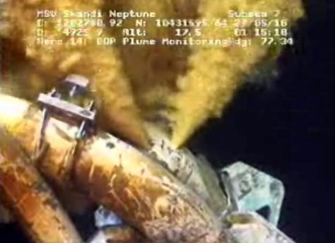 Image: Gulf oil spill