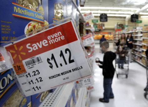 Image: Walmart shopper