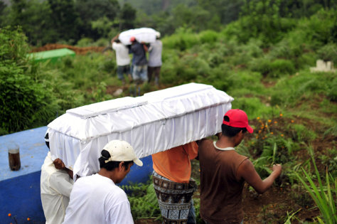 Image: Landslide fatalities in Guatemala