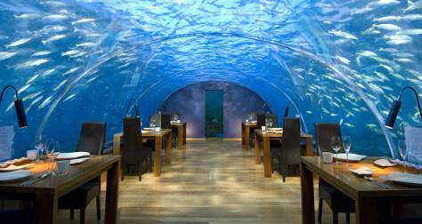 Image: Ithaa Restaurant