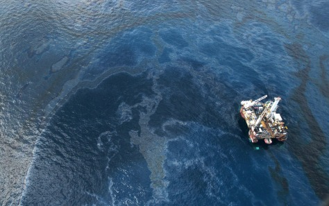 Image: spill aerial