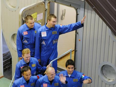 Image: Mars500 crew