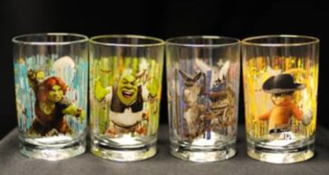 "Image: ""Shrek Forever After 3D"" glasses"