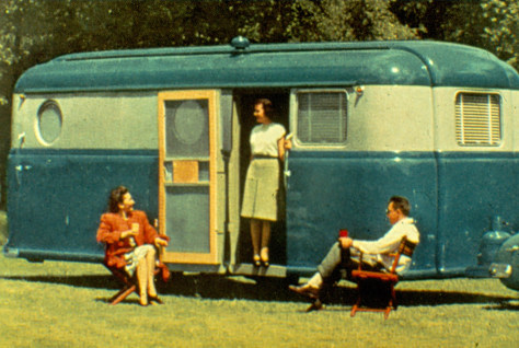 Image: All-steel travel trailer