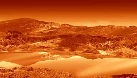 Image: Titan surface