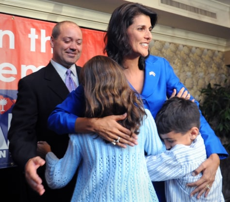 Image: Nikki Haley and her family