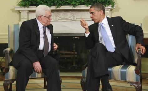 Image: Mahmoud Abbas, Barack Obama