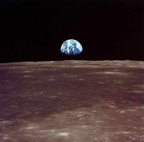 Image: Earth from the moon