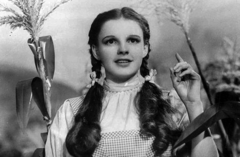 "Image: Judy Garland in the ""Wizard of Oz"""