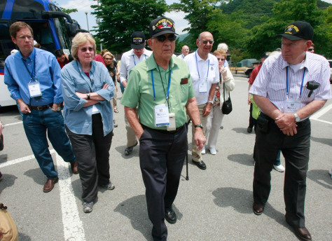 Image: Korean War veterans