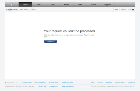 Image: Apple Web site