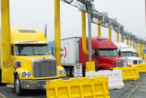 Image: Truck stop
