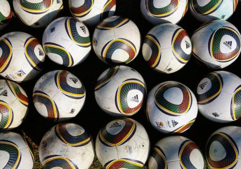 Image: Jabulani soccer balls by Adidas