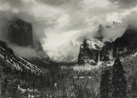 Image: Ansel Adams photograph