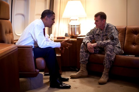 Image: President Obama and Gen. Stanley McChrystal,