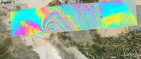 Image: Quake deformation