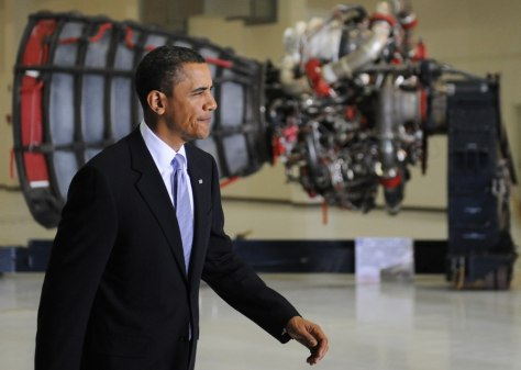 Image: Obama at KSC