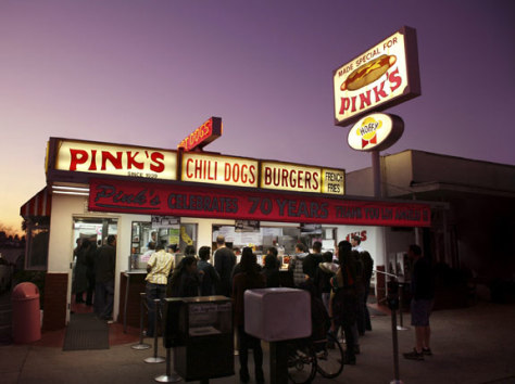 Image: Pink's, Los Angeles
