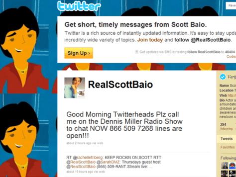 Image: Scott Baio's Twitter page