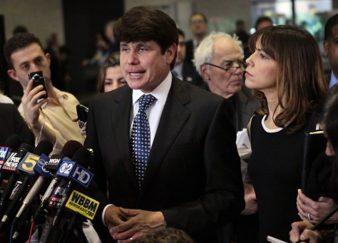 Image: Rod and Patti Blagojevich