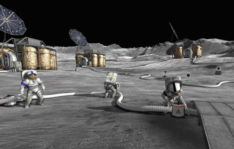 "Image: Screenshot from ""Moonbase Alpha"""