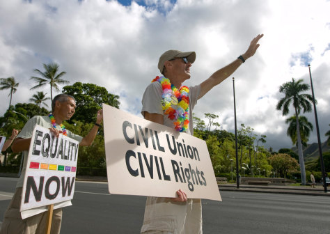 Image: Hawaii Civil Unions