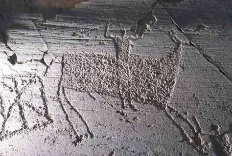 Image: Prehistoric engraving