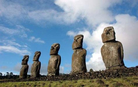 Image: Easter Islande statues
