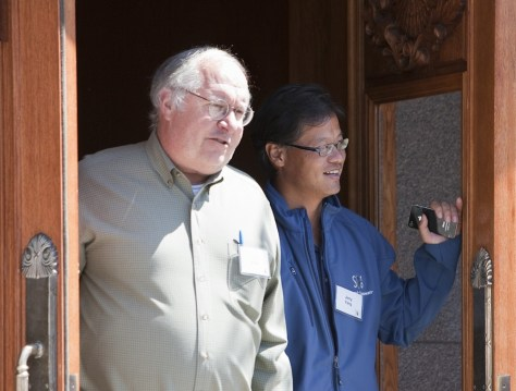 Image: Bill Miller, Jerry Yang