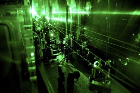 Image: Laser apparatus