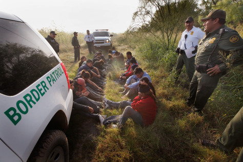 Image: Agents Patrol Texas Border To Stop Illegal Immigrants From Entering U.S.